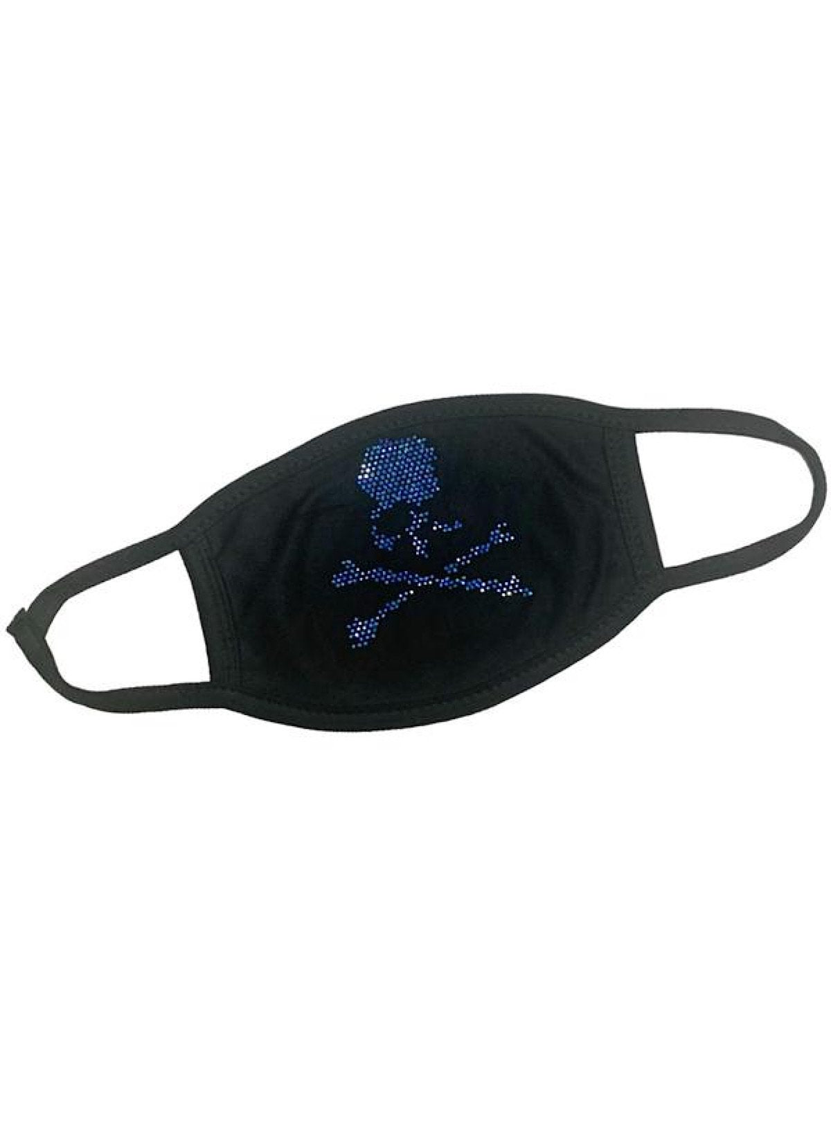 Rawyalty Face Mask - Skull - Royal