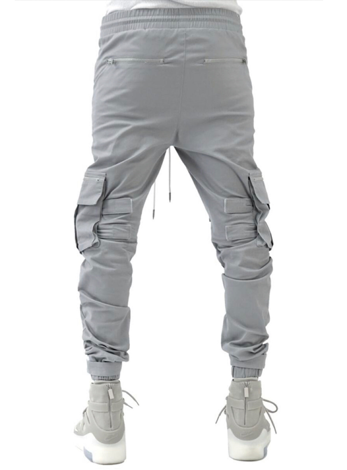 The Hideout Clothing Joggers - Eternal Energy Cargo - Light Grey - SU20-13