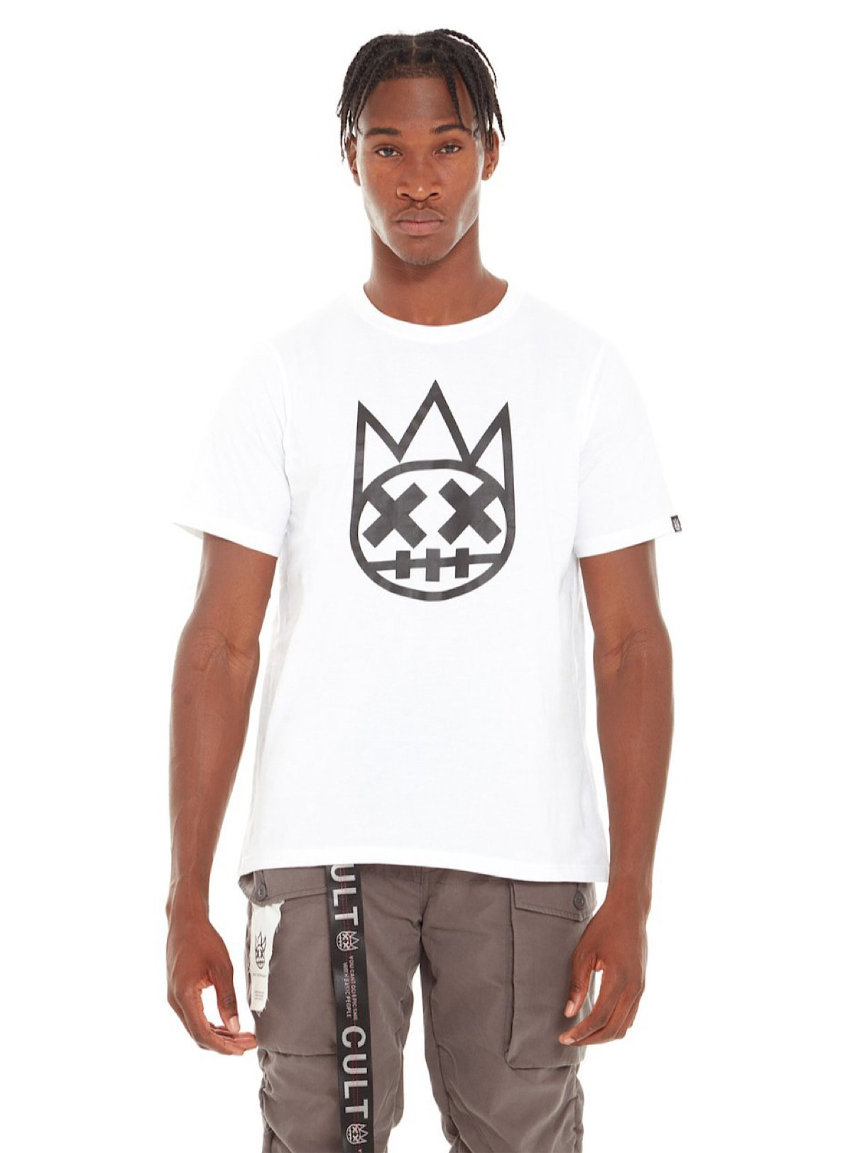 Cult Of Individuality T-Shirt - Shimuchan Logo - White - 620A0-K93F