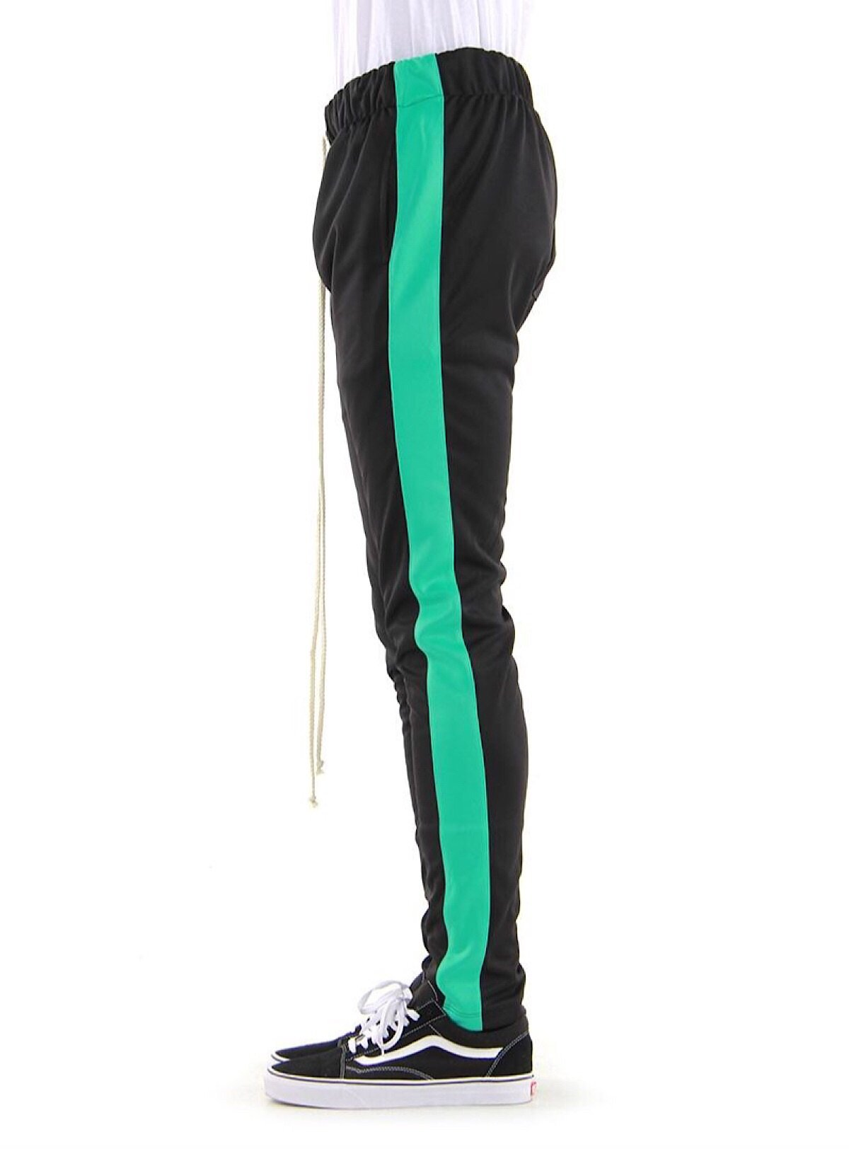 EPTM Track Pants - Black And Mint - EP9629