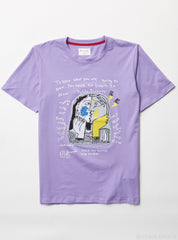 Bear The Beams T-Shirt - Pablo Picasso - Purple
