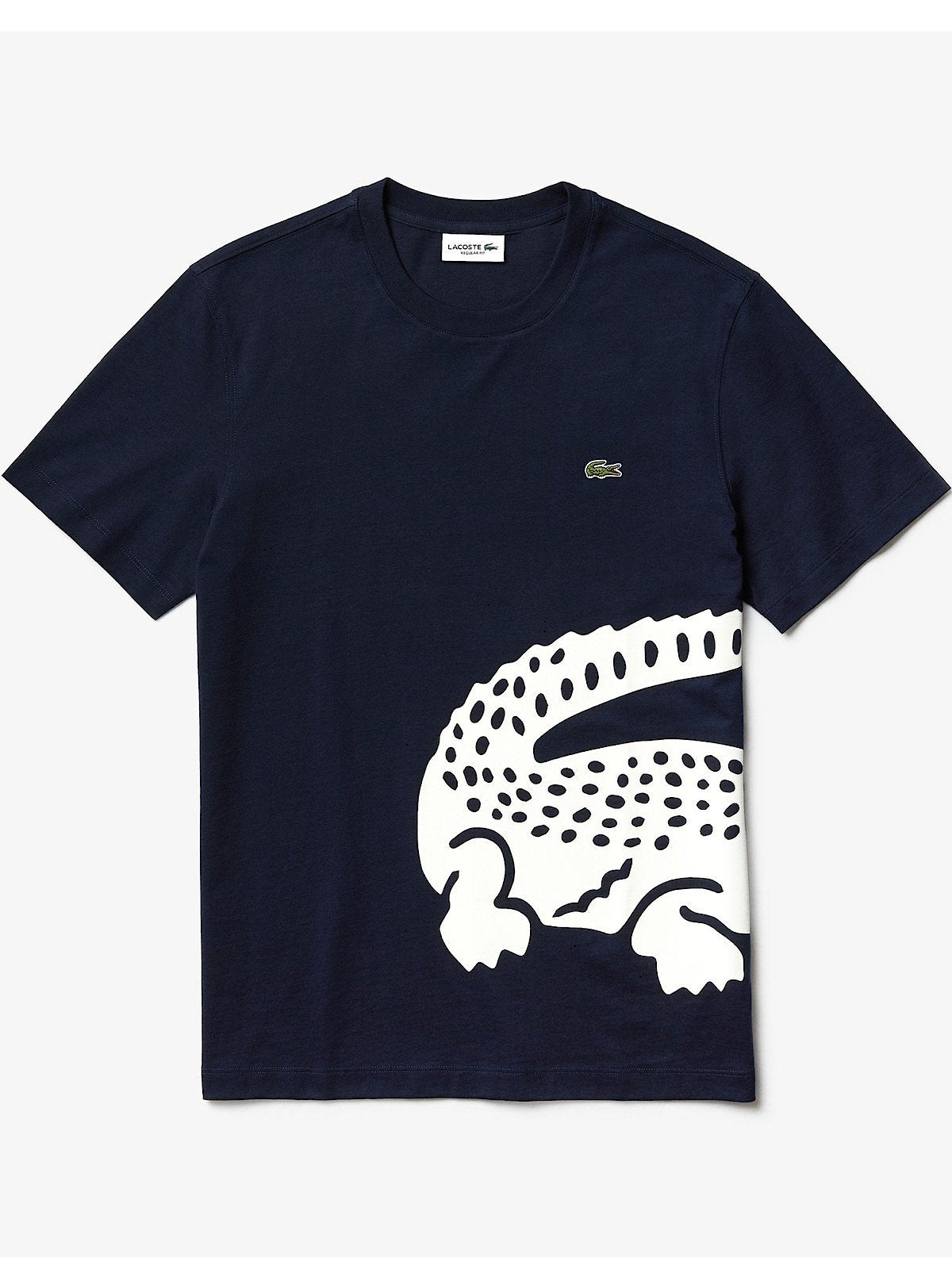 Lacoste T-Shirt - Big Croc - Navy - TH5139
