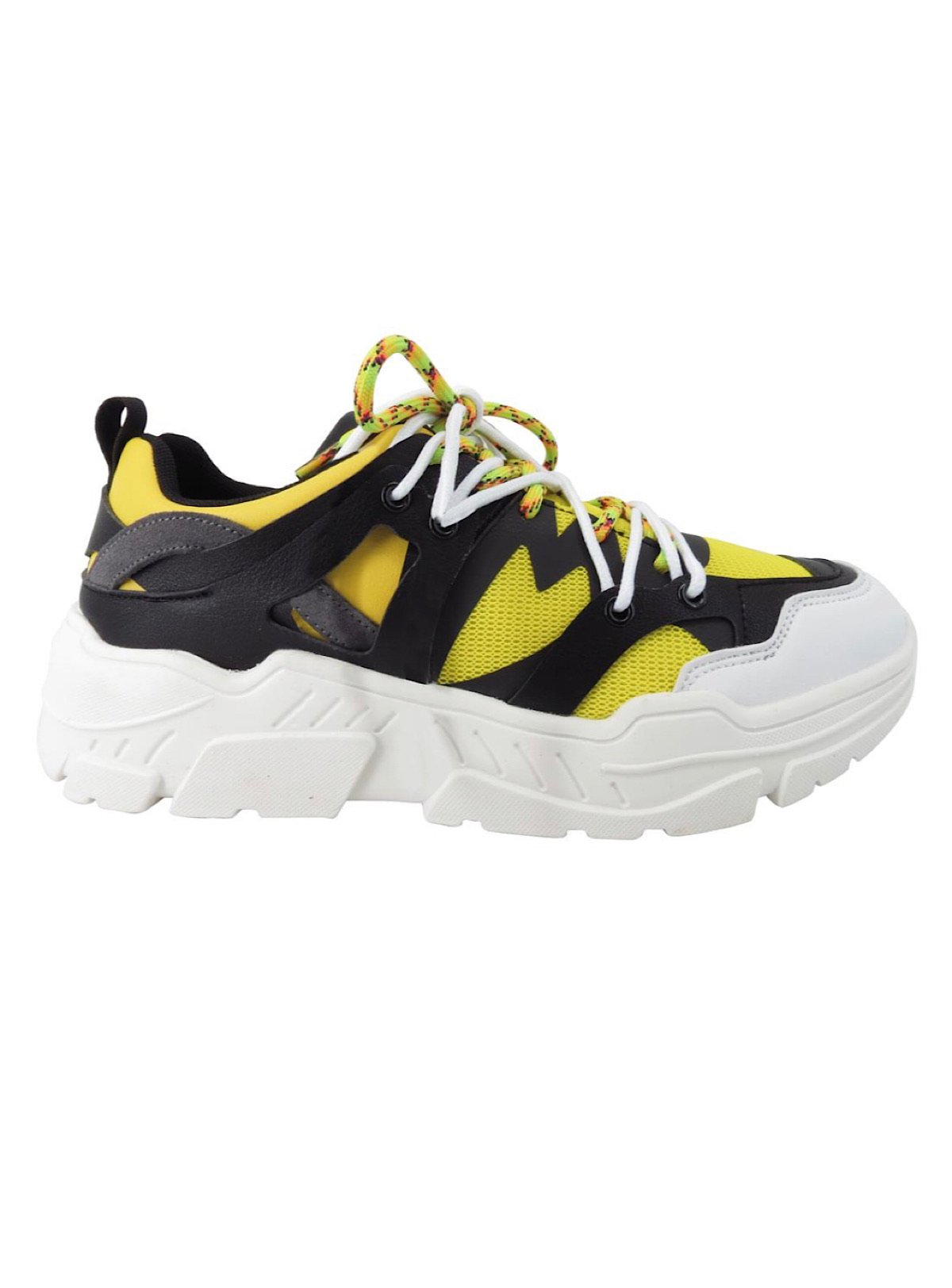 Javi Shoes - Black - Yellow Multi