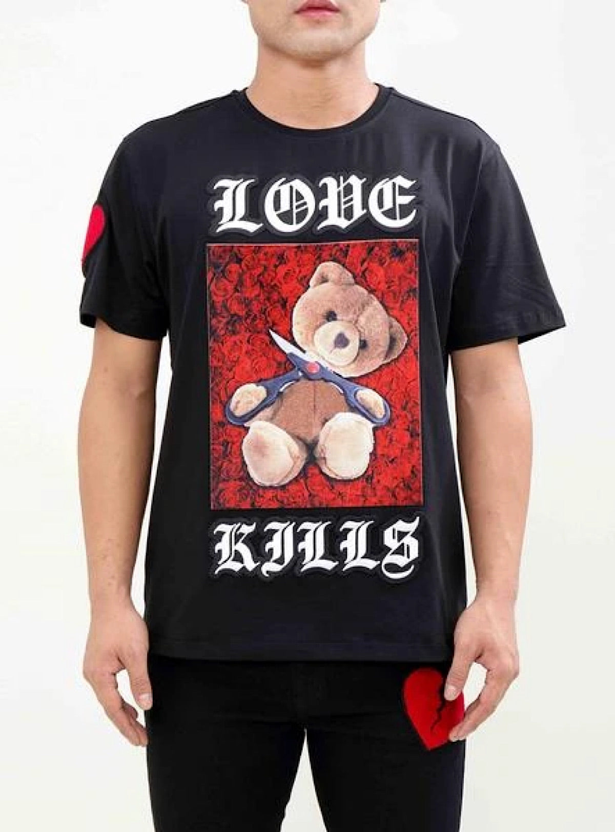 Hudson T-Shirt - Love Kills - Black - H1053054