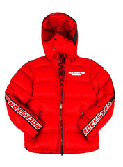 Rockstar Bubble Jacket Rsm345 Alasia Red