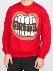 Buyer's Choice Sweater - Lips - Red - SW-21562