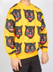 Buyer's Choice Sweater - Cat - Yellow - SW-21560