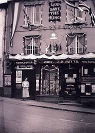 Historic Image of No.10 at 10 Market Street, Hatherleigh, Devon when it used to be a chemist.