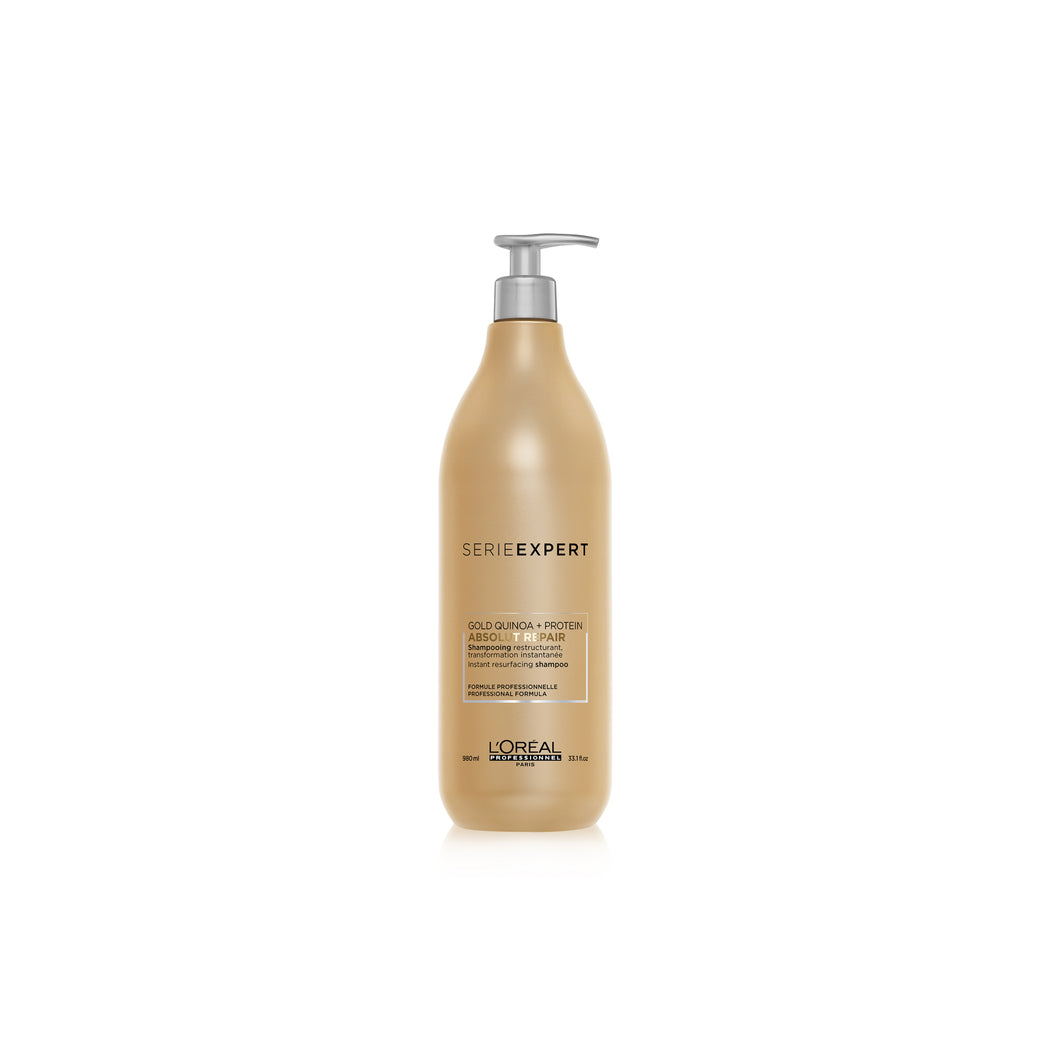 Lóreal Absolute Repair Shampoo Backwash 1500 mls