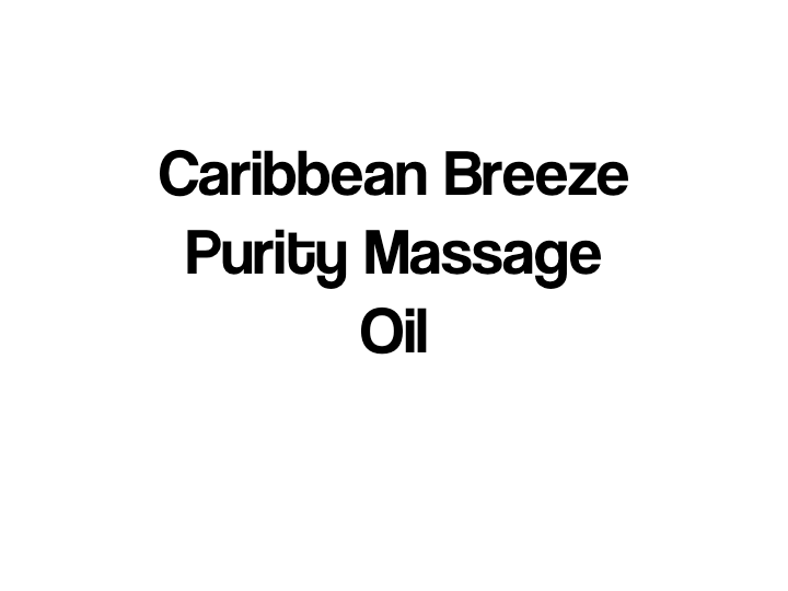 Caribbean Breeze Purity Massage Oil