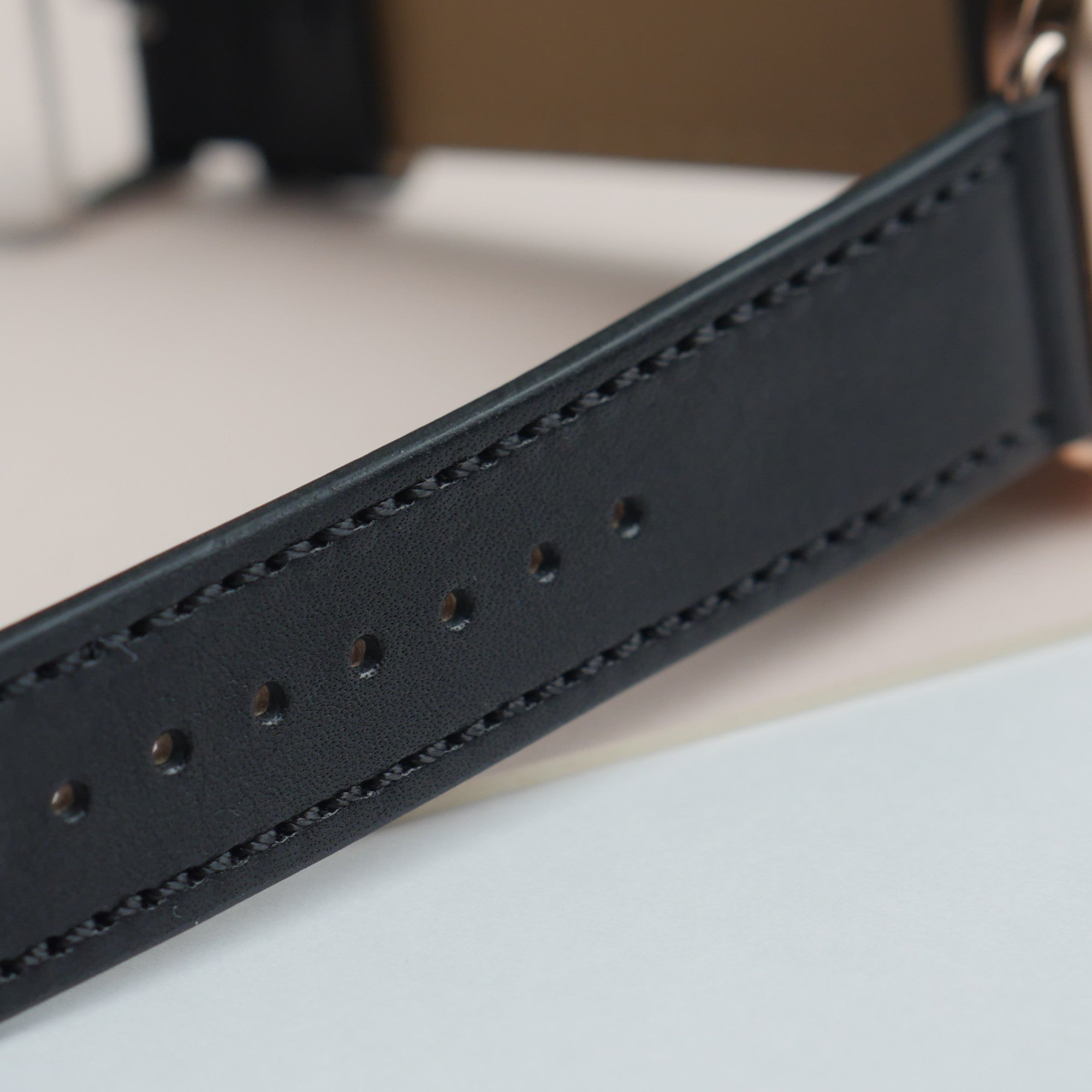Pin and Buckle Apple Watch Bands - Elements of Luxury - Hand Stitched