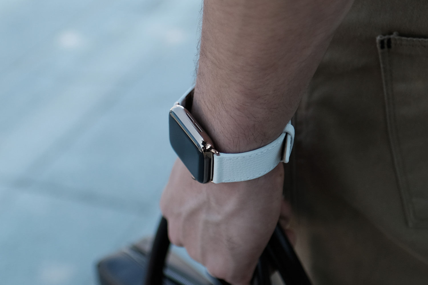 Epsom Leather Apple Watch Bands by Pin & Buckle