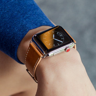 Vachetta Leather Apple Watch Band