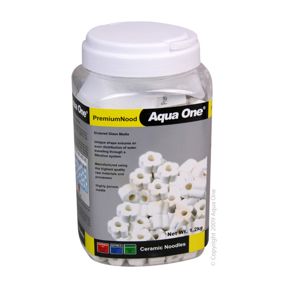Aqua One PremiumNood Ceramic Noodles 1.2Kg