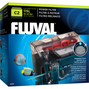 Fluval C2 Power Hang-on Filter (38-115L) 5-stage filtration
