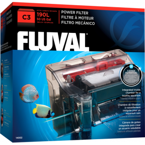 Fluval C3 Power Hang-on Filter (75 to 190 L) 5-stage filtration