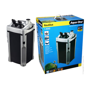 Aqua One - 1400 Nautilus Canister Filter 1400 L/Hr
