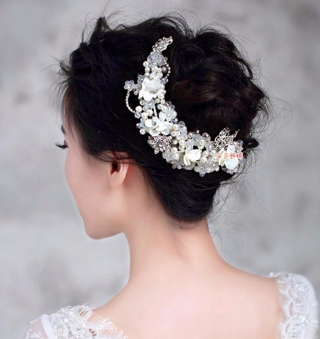 Phyllis Elegant Wedding Headband