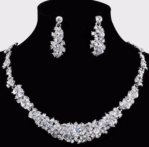 Palazzo Crystal Wedding Jewelry Set
