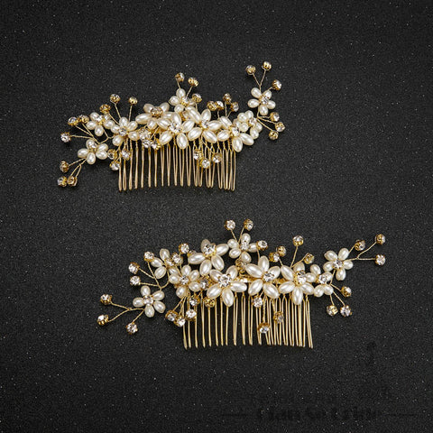 Frame Me Bridal Hair Combs