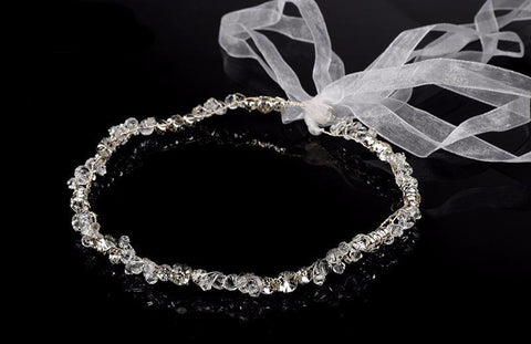 Abra Handmade Crystal Bridal Wedding Hairband