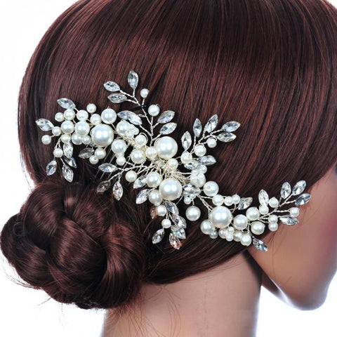 Because You Love Me Wedding Hair Comb