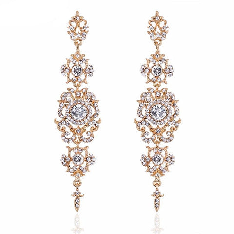 Georgina Long Bridal Earrings