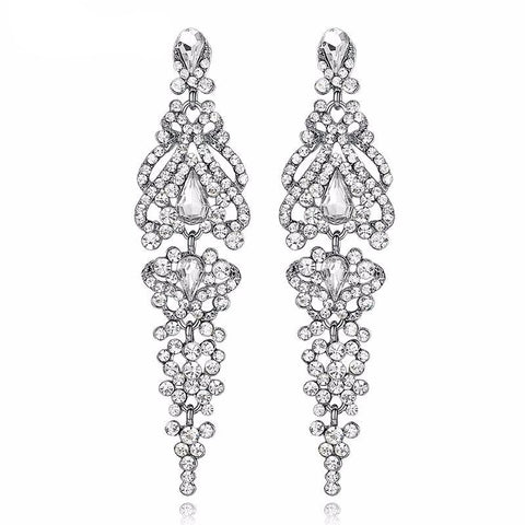 Magic Crystal Long Earrings