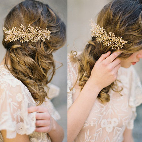 Birch Bridal Hair Comb