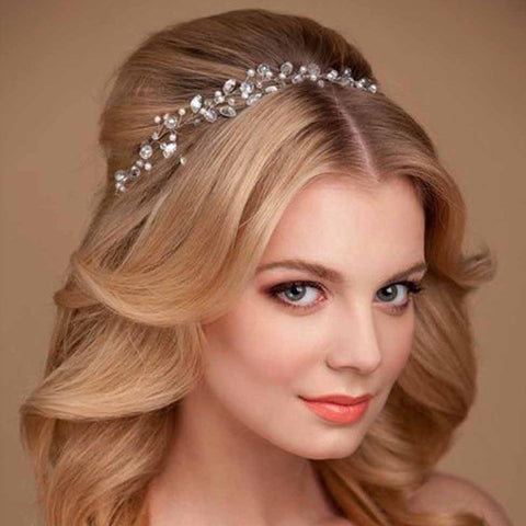 Adorn Me Crystal Wedding Headband