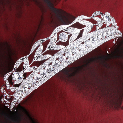 Don Luxurious Bridal Rhinestone Tiara
