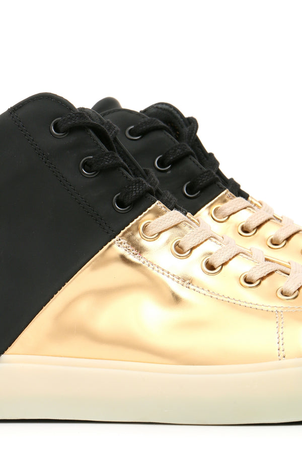 Shoes Leather Crown-Sports & Entertainment - Sneakers-Mudawwana UK
