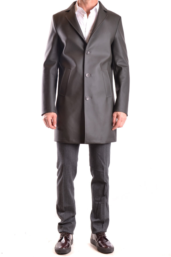 Coat Daniele Alessandrini-root - Men - Apparel - Outerwear - Coats-Mudawwana UK