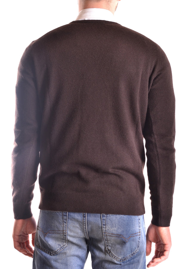 Marrón Cashmere Sweater Kangra for Men-Sweaters - MAN-Mudawwana UK