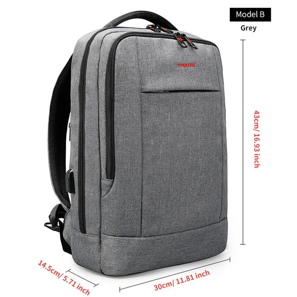 15.6inch Anti-Theft Laptop Backpack Bag-Mudawwana UK