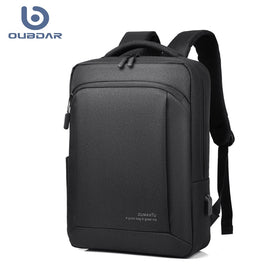 Anti-Theft Oxford Men Laptop Backpacks