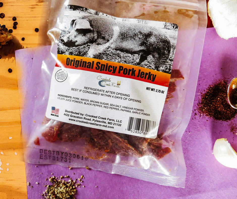 Pork Jerky, Clean Protein, Mom, Nursing mom , Protein on the go. Good for you.
