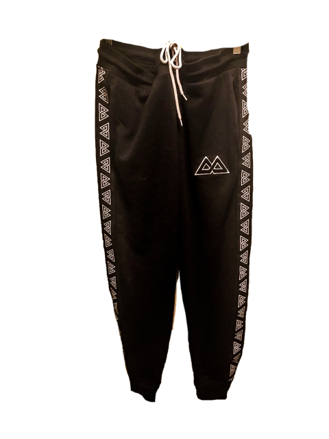 Black Warm Up Pant