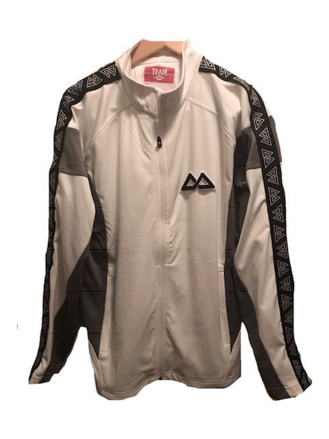 White Track Star Jacket