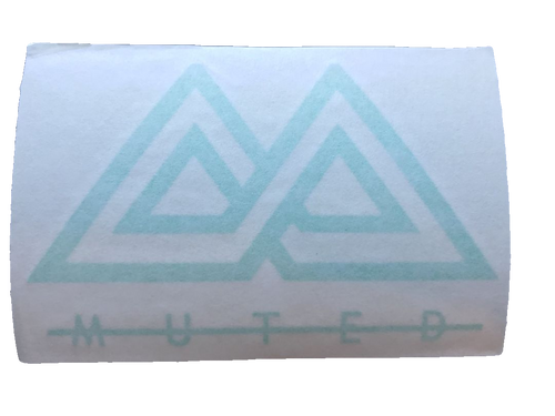 Muted Sticker - Green