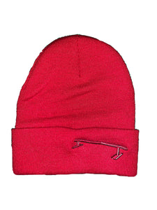 Red Rail Skiing Beanie