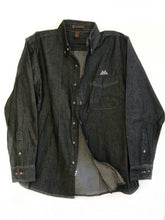 Street Denim Shirt - Black