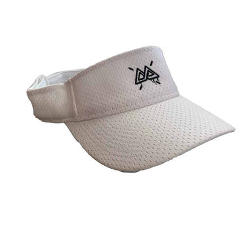 White Golf Visor