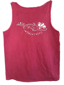 Shark Creature Soft Tank Top - Pink