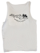 Shark Creature Soft Tank Top - White