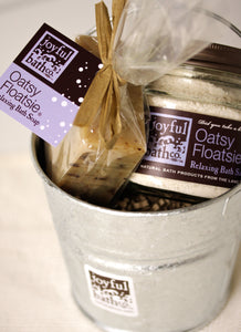 'Lil Soap & Salt Bucket - Gift Basket