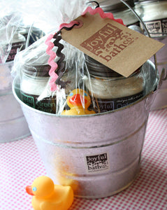 Perfect Bath Bucket - Gift Basket