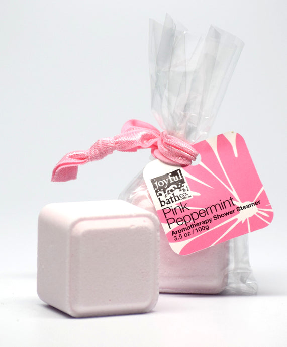 Pink Peppermint Aromatherapy Shower Steamer