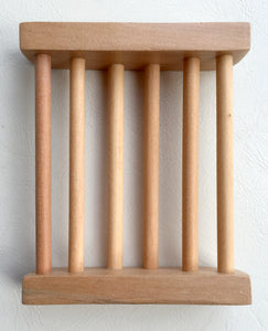 Wooden Soap Cradle