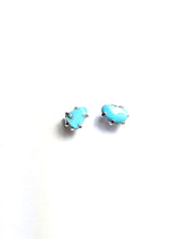 Deception Studs in Turquoise